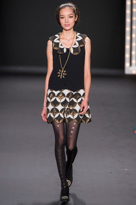 Anna Sui Fall 2013 from Style.com